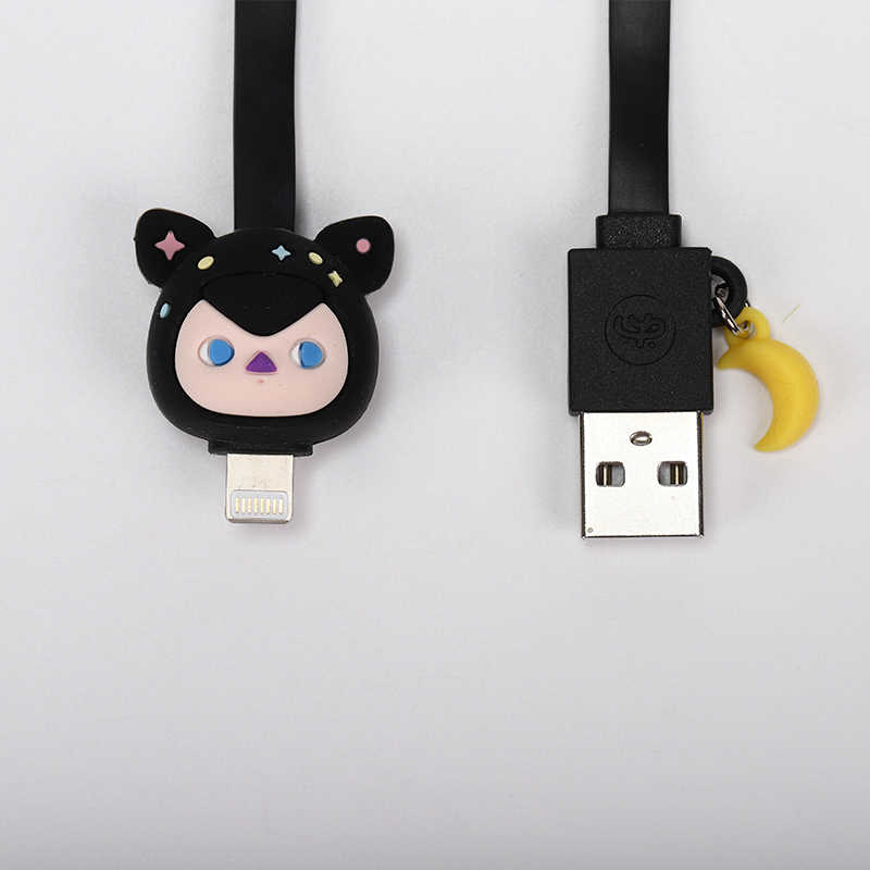 POPMART Pucky עיוור תיבת סדרת של כבלי USB עבור אפל מכשיר אקראי קופסא מתנה פעולה איור מתנת יום הולדת ילד צעצוע משלוח חינם
