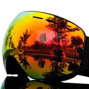 Image 3 - 2019 Brand Ski Goggles Men Women Snowboard Goggles Glasses for Skiing UV400 Protection Snow Skiing Glasses Anti fog Ski Mask
