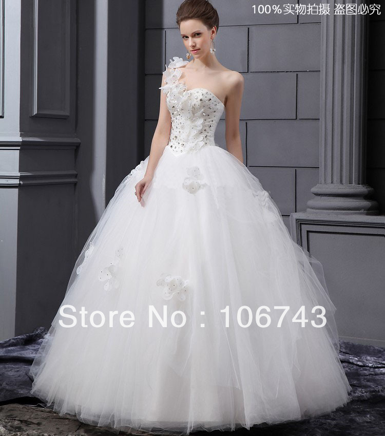 Free Shipping 2016 Theme Chirffon New Style Hot Sale Sexy Bridal Gown Lace Bandage Custom Size Crystal Cute Bl Wedding Dresses