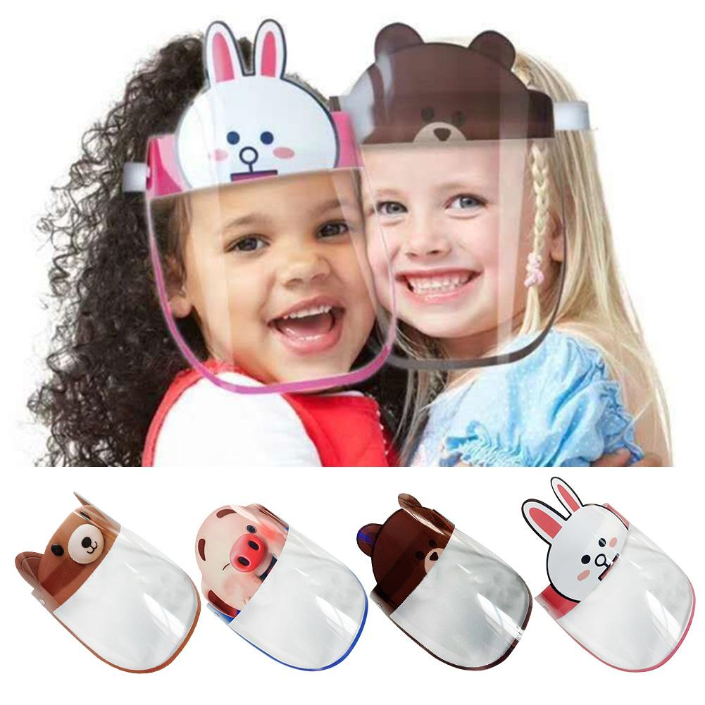 Face Mask For Kids Face Protective Shield For Kids Children Clear Shields Hat Covering Mask Protection Anti-fog Cover Baby