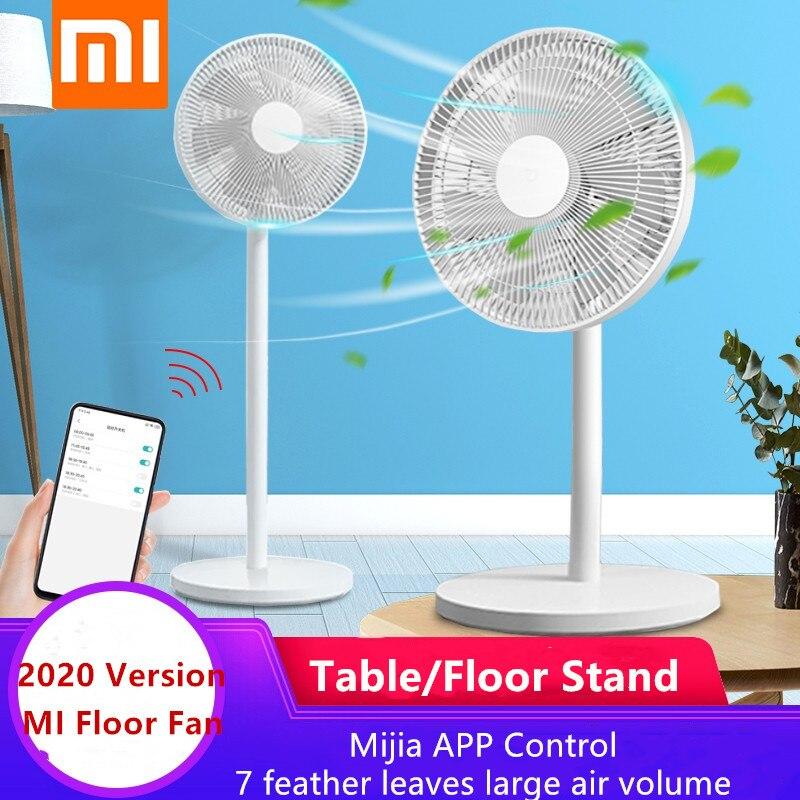 Новый XIAOMI MIJIA умный Mi стоячий вентилятор для пола и стола Электрический вентилятор натуральный ветер воздушное охлаждение Mihome управление приложением 2020 новая версия|Смарт-гаджеты|   | АлиЭкспресс