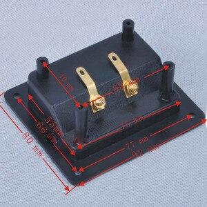 Image 5 - 2pcs Due Spilli Audio Speaker Banana Connettore di Rame di Rame Terminale di Cablaggio Degli Altoparlanti Audio Presa