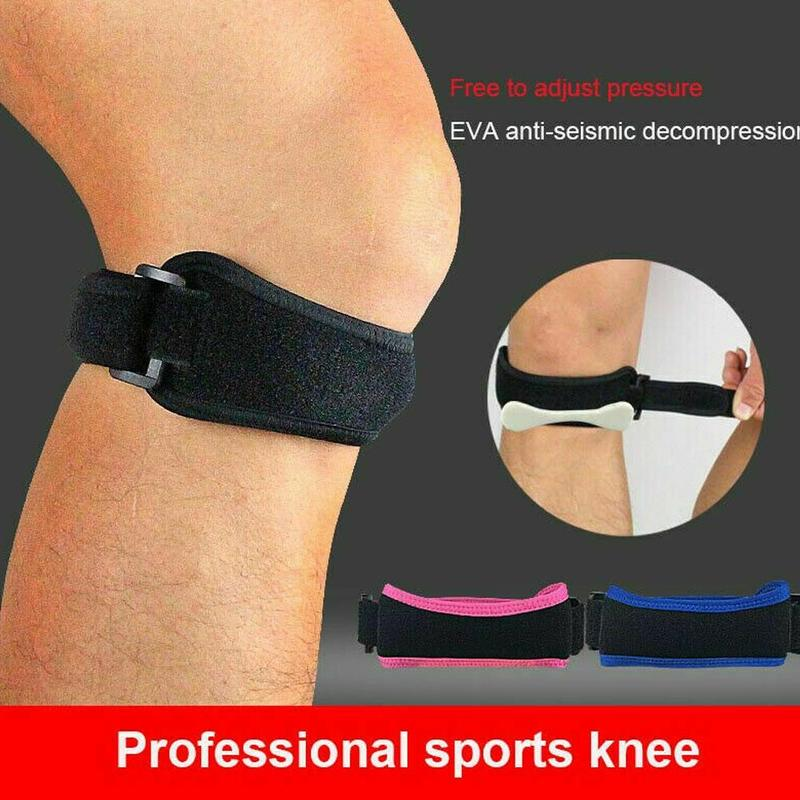 1PCS Knee Support Patella Belt Elastic Bandage Sport Strap Knee Pads Protector Band Outdoor Football Running Fitness Knee Brace