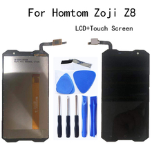 100% test 5.0-inch For Homtom Zoji Z8 LCD Display+Touch Screen Digitizer Assembly replacement For Homtom Zoji Z8 LCD Repair kit 14 inch ht14x19 100 lcd screen