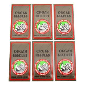 60 PCS ORGAN SEWING NEEDLES FIT FOR SINGER , Pfaff,JANOME, RICCAR, NECCHI , BROTHER, BERNINA, BABYLOCK HAX1 130/705H (15x1)(China)