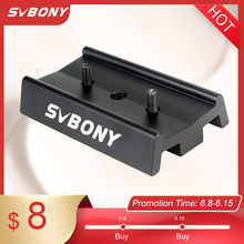 SVBONY Telescope Dovetail Mounting Plate 70mm for Astronomy Equatorial Tripod Long Version for Binocular/Monocular F9175A