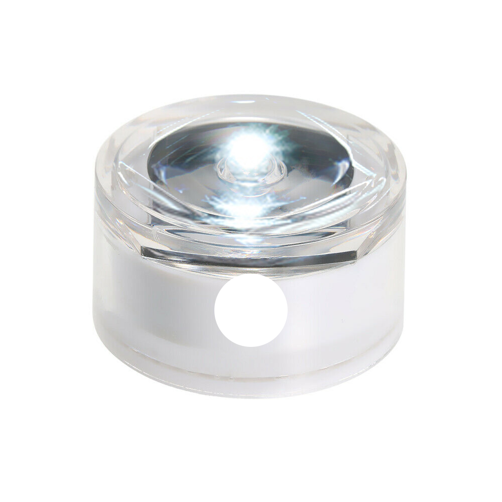 Солнечная Светодиодная лампа для подземного освещения, открытый наземный садовый троп, Напольный Пол, точечный пейзаж, зарытый свет IP67, водонепроницаемый - Испускаемый цвет: white