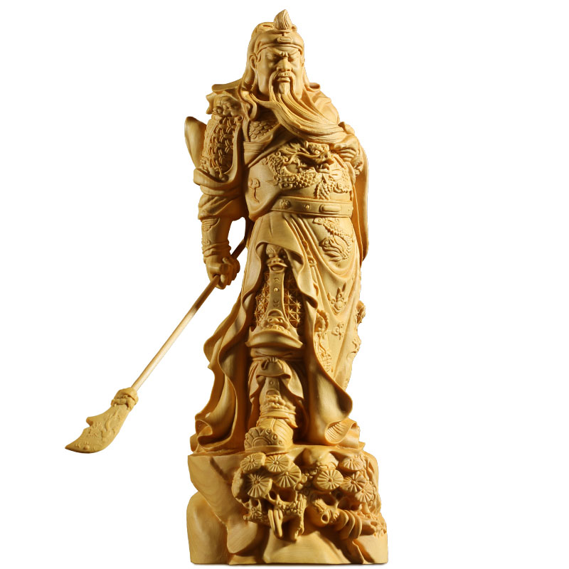6cm Boxwood Wood Carving The Monkey King Buddha Head Statue C Style Sculpture
