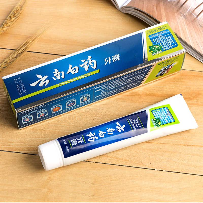 Yunnan Baiyao pasta do zębów Antigingivitis pasty do zębów opieki oryginalne chińskie zioła składniki lecznicze podróży niezbędne 30g