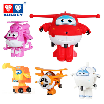 цена на 26 Style Mini Super Wings Deformation AirPlane Robot Jett Action Figures Toys For Children Gift Action Figures Super Wing