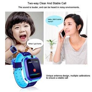 Image 3 - ילדי GPS חכם שעון בני Watch ילדה של שעון תכליתי ילדי דיגיטלי שעוני יד תינוק שעון טלפון עבור IOS אנדרואיד ילדים