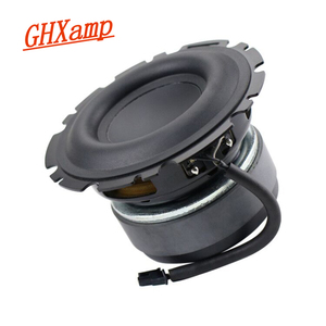 Image 2 - GHXAMP Speaker 4.5 inch Bass Subwoofer Loudspeaker Mid bass Large Rubber Composite Aluminum Basin 4OHM 90dB 50W for Peerless