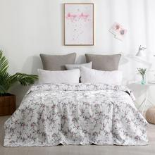 Minimalist style Washed cotton bedspread 1 Piece set Superior 100% Cotton All-Season Premium Bed-cover King Queen78*86