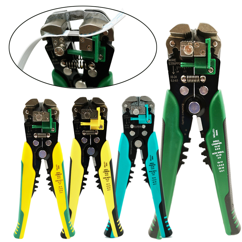 Crimper Cable Cutter Automatic Wire Stripper Multifunctional Stripping Tools Crimping Pliers Terminal 0.2-6.0mm2 tool(China)