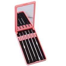 Acne Needle 5-Piece Suit Remove Blackhead Tool Random Color Acne Needle Acne Needle Removal Tool Beauty Tool цена