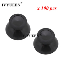 IVYUEEN 100 pcs New 3D Analog Thumb Sticks for XBox One 1 X S Elite Series Controller Analogue Thumbsticks Caps Mushroom Grips