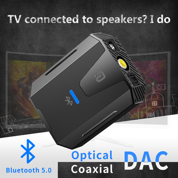 Digital to Analog Audio Converter Bluetooth 5.0 Optical Toslink Coaxial Signal to RCA R/L Audio Decoder SPDIF ATV DAC Amplifier analog to digital audio converter for ps3 xbox blu ray player r l rca 3 5mm aux to digital coaxial toslink optical audio adapter