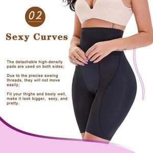 Image 2 - Minifaceminigirl Afslanken Schede Buik Vrouwen Butt Lifter Shapewear Panty Gewatteerde Dij Trimmer Afval Trainer Bindmiddelen En Shapers