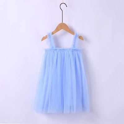 VIDMID Baby Girls vest Dresses Cotton summer Girls sweet lace Dress Kids girls Clothes children's girls sleeveless clothing 7065 4