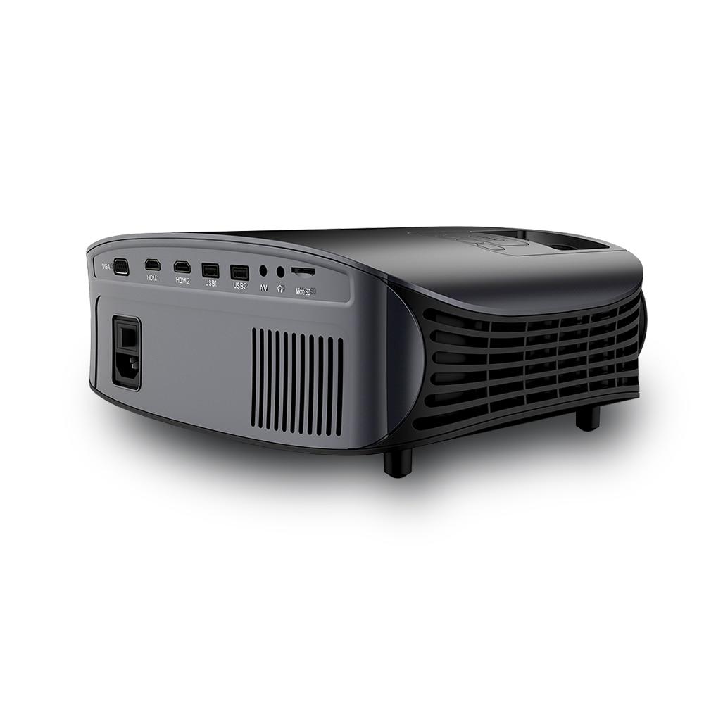 Image 3 - LEJIADA YG600 HD Projector LCD Beamer Support Full HD 1080P YG610 Home Theatre HDMI VGA USB Video Portable LED Projector    -