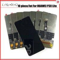 10 Teile/los original Display Ersatz für Huawei P30 Lite Nova 4e LCD Touch Screen Digitizer Montage MAR-LX1 LX2 AL01