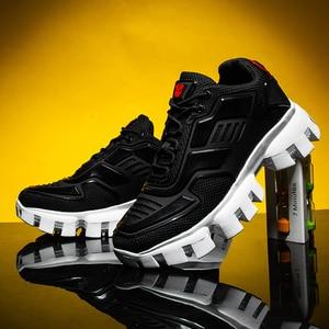 Image 5 - Popular Men Casual Shoes Trainers Male Sapato Masculino Walking Sneakers Krasovki Light Men Shoes Black Tenis Zapatillas Hombre