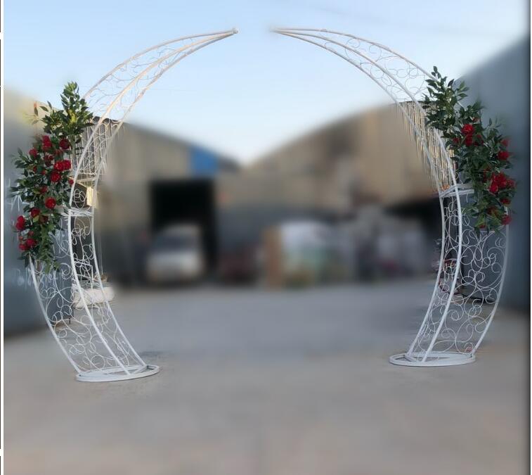 Novo casamento adereços arco de ferro quadro