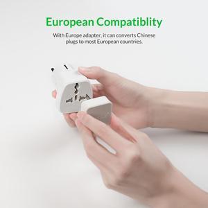 Image 4 - Orico Power Strip 1.5m Cable Electrical Socket Plug 250V 2500W 5V 2.4A 3USB Ports with EU Plug Adapter Extension Power Strip