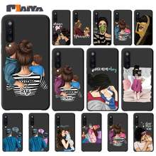 Super Papa Mama Baby Meisje Twin Luxe Telefoon Case Coque Voor Samsung Galaxy A10 A20 A50 A51 A70 A71 A40 a30 A30S A80 Gevallen Fundas(China)
