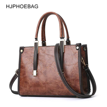 HJPHOEBAG Vintage PU Leather Ladies HandBags Designer Handbags High Quality Shoulder Bags Boston Hand Hot Sale YC247