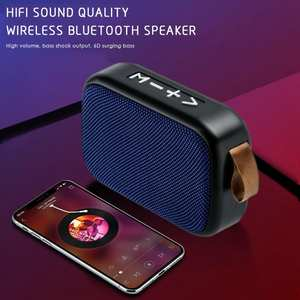 Bluetooth Speaker Computer Portable Distortion Suppresses Vip-Link G2-Fabric
