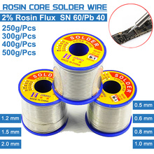 Tin-Wire Lead Solder-Soldering-Wire-Roll No-Clean Melt-Rosin High-Purity 45FT