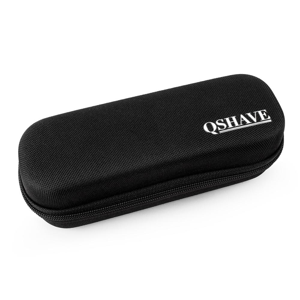 QSHAVE Hard Travel Case For One Blade Hybrid Electric Trimmer Shaver, QP2520 QP2570 Organizer Carrying Bag Cover Storage