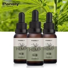 Pansly Essential Oil Organic Hemp Seed Body Sleep Aid Anti R