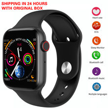 IWO 8 lite Bluetooth Call Smart Watch 44mm ECG Heart Rate Monitor W34 Smartwatch for Android iPhone xiaomi PK iwo 8 iwo10(China)