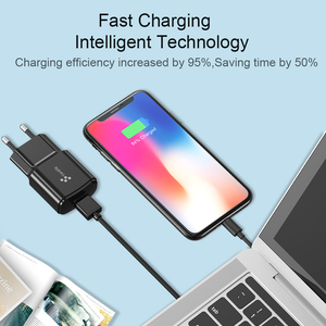 Image 4 - Swalle 5V 2.4A Plugs UE carregador de Alta qualidade carregador de viagem para o telefone móvel Novo carregador usb carregador portatil para smartphones