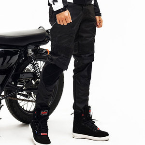 Image 5 - DUHAN Motorcycle Pants Men Motocross Pants Windproof Motorcycle Trousers Motocross Riding Pants With Removable Protector Guards