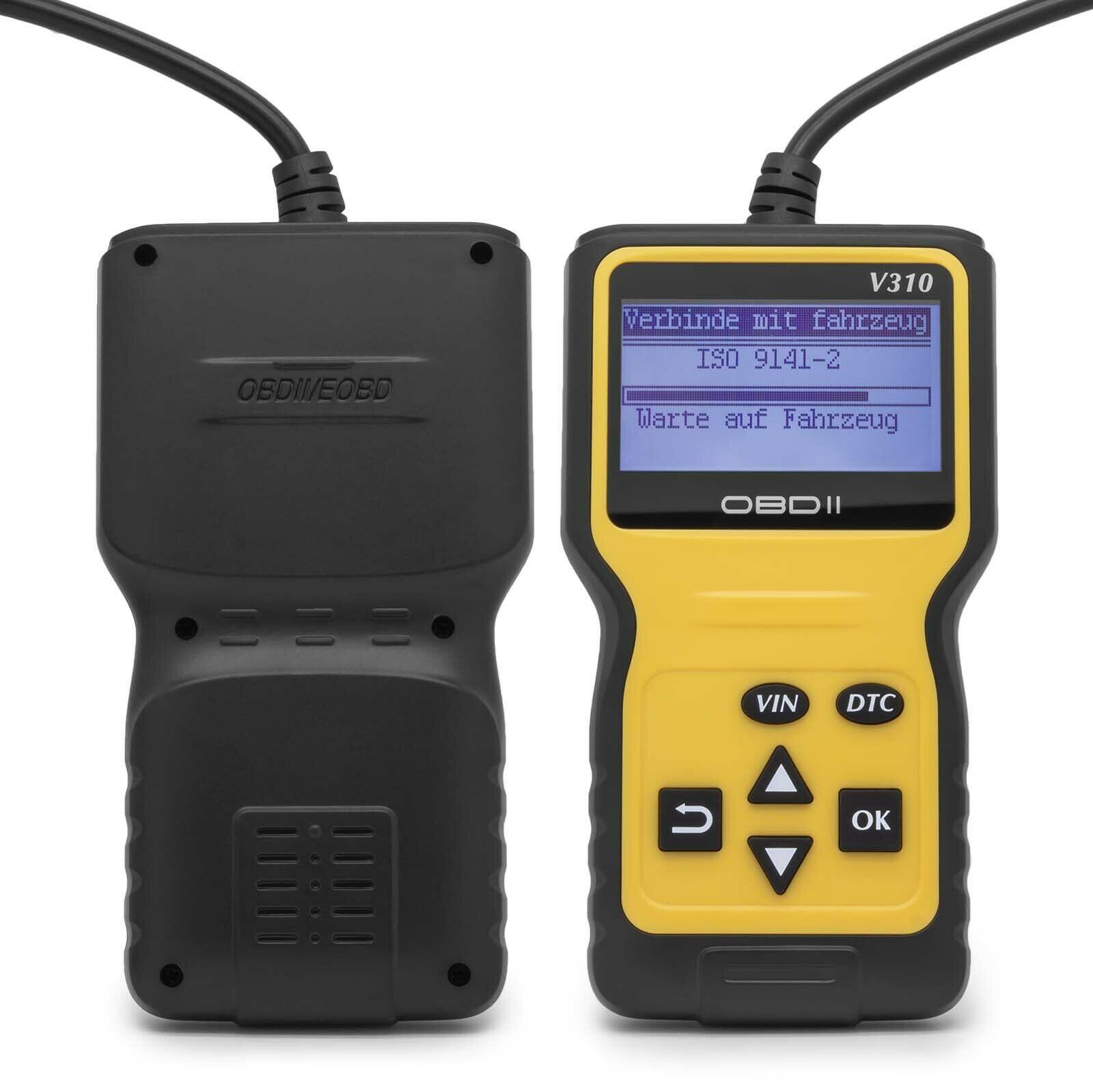 Leitor de Código Falha do Motor Velocidade do Carro Scanner Verificação Sonda Ferramenta Diagnóstico Código Obd2 Varredor V310 V1.1