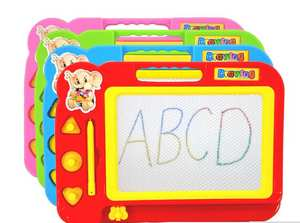 Toy Preschool-Tool Graffiti-Board Drawing Writing-Painting Magnetic Color Kid New