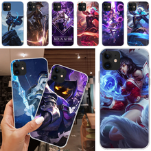 Baweite League Of Legends Lol Pahlawan Bling Lucu untuk iPhone 5C 5 5S SE 7 8 PLUS X XS XR X Max 11 11 Pro 11 Pro Max(China)