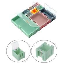 9 шт/компл smd контейнер smt электронный компонент ИС мини коробка