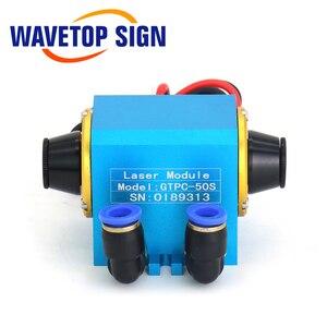 Image 3 - WaveTopSign JiTai GTPC 50S 50W מרפק YAG לייזר מודול GTPC 50S 90 מעלות לייזר דיודה משאבת להשתמש עבור YAG לייזר מכונה