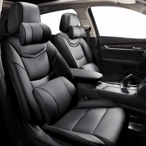 Custom Leather car seat cover