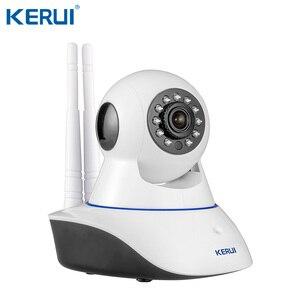 Image 5 - KERUI Wifi Home Alarm GSM  TFT Color Display WIFI  GSM Alarm System Home Alarm Security  Gas Sensor Wifi Camera IP Burglar Alarm