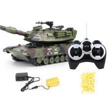 цена 1:32 RC War Tank Tactical Vehicle Main Battle Military Remote Control Tank with Shoot Bullets Model Electronic Hobby Boy Toys онлайн в 2017 году