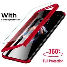 360 шт. полное покрытие чехол s для samsung Galaxy S10 5G S8 S9 плюс Чехол J2 J5 J7 Prime J3 J5 чехол с защитной пленкой