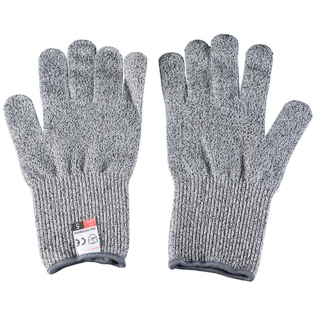 US $5.47 71% OFF|Cut Resistant Gloves Anti cut Gloves Food Grade Level 5  Protection Wire Metal Glove Kitchen Cutting Safety Gloves for Fish Meat on  ...