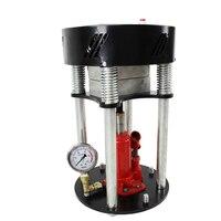 Heat Press Machine MP180 Manual High Pressure Hot Press Hydraulic Hot Press Hot Stamping Machine English Manual 600W