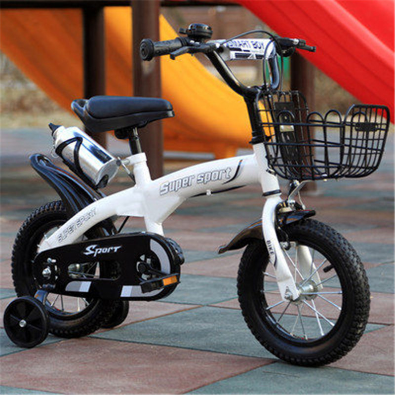 2019 Popular Children Bicycle Boy 12 Inch 2-4 Years Old Baby Bicycle Stroller Men And Women Children Single Bicycle
