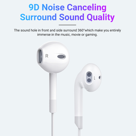 Langsdom V6 Earphone 3.5mm In-ear Headphone for Xiaomi iPhone fone de ouvido with Mic auriculares Headsets Audifonos Mp3 Dj Lahore
